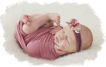newborn session photo