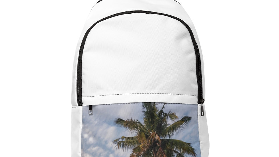 Unisex Fabric Backpack
