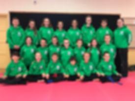 Kenbu Dojo British Championship Team 201