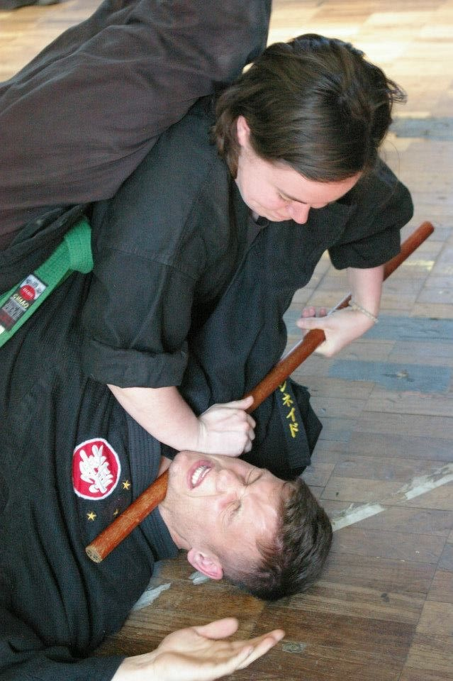 bujinkan weapons training budo warrior schools.JPG