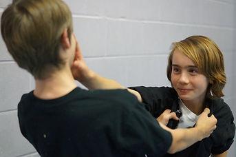 Teenagers training at Budo Warrior Schools