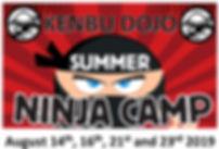 Kenbu Dojo Ninja Camp 2019