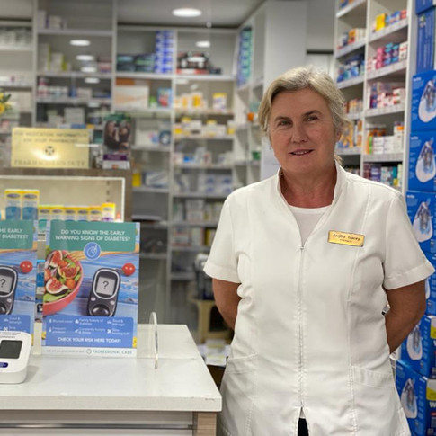 Angela Tracey at Cremorne Town Centre Pharmacy