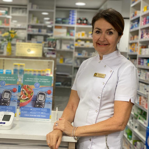Genevieve Kearney at Cremorne Town Centre Pharmacy