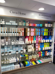 Glasshouse and Circa Home candles at Cremorne Town Centre Pharmacy