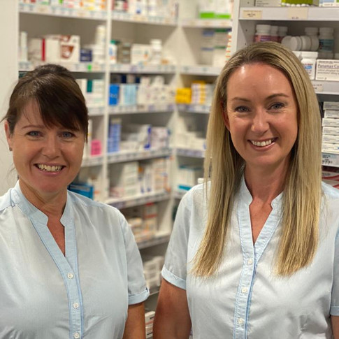 Verity Stone and Jennifer O'Neill (store managers)
