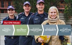CFA Values screen saver