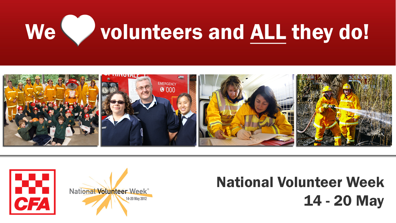 National Volunteer Week 2012 banner