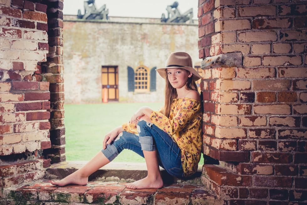 Photo shoot at Fort Macon, NC