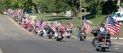 ALR Flag Procession