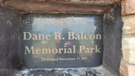 Dane R. Balcon Memorial Wall