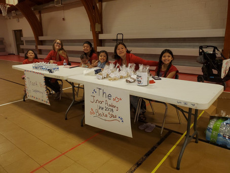 Junior Auxiliary Fundraiser!