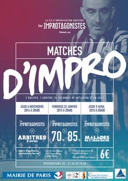 Matchs Impros 2014 2015