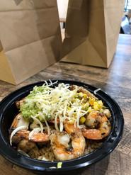 El Toro with shrimp