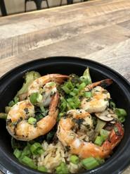 Oishi with shrimp