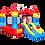 Thumbnail: Батут надувной jumpo Маленький замок