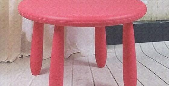 Круглый стол Mammut красный