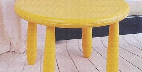 Круглый стол Mammut желтый