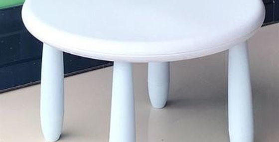 Круглый стол Mammut белый