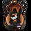 """Thumbnail: Автолюлька """"Весёлый Ёжик"""" от 0-13 кг (оранжевый)"""