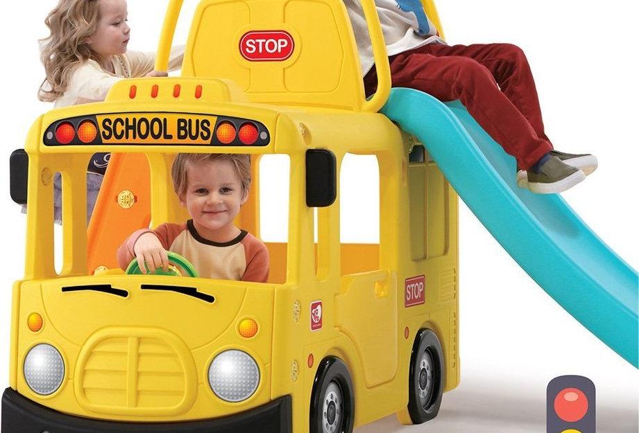 """Комплекс """"Автобус Тayo"""" """"YaYa"""" желтый с бирюзовым скатом"""