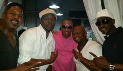 w/ R&B vocalists Silk