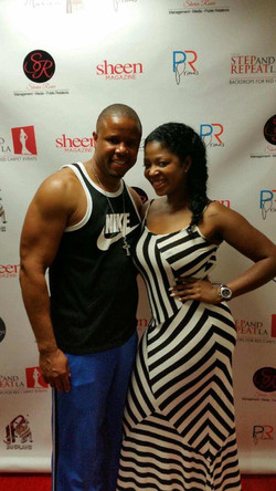 w/ RHOA producer Princess Banton-Lof