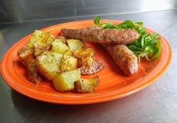 Godiveaux et pommes de terre