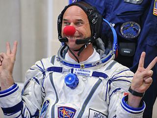 Il primo clown nello spazio