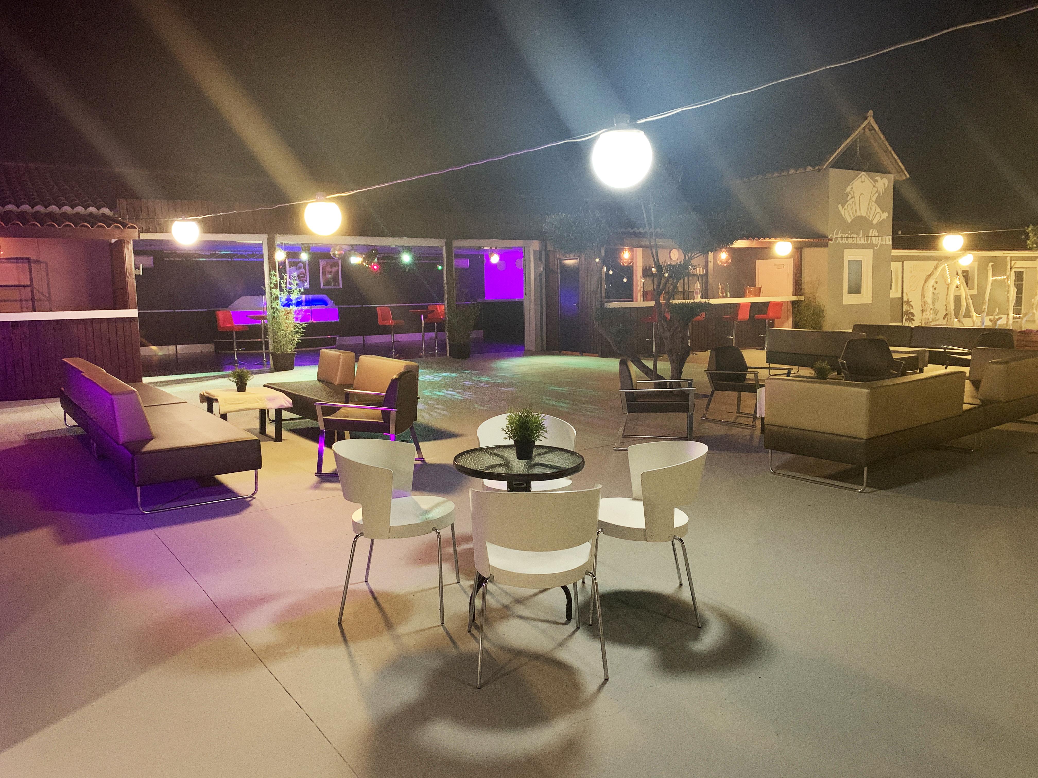 Hacienda Mityana - Eventos - Chill out - Terraza