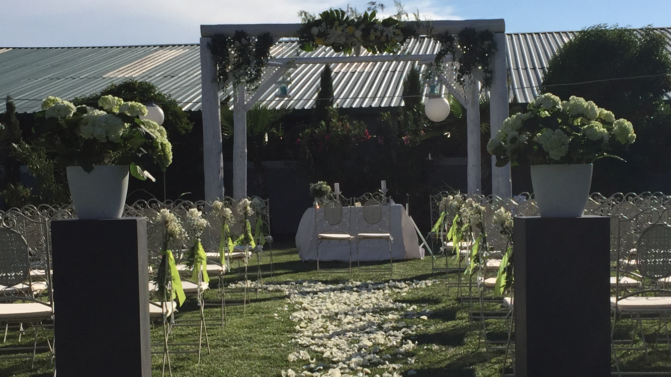 Hacienda Mityana - boda - ceremonia