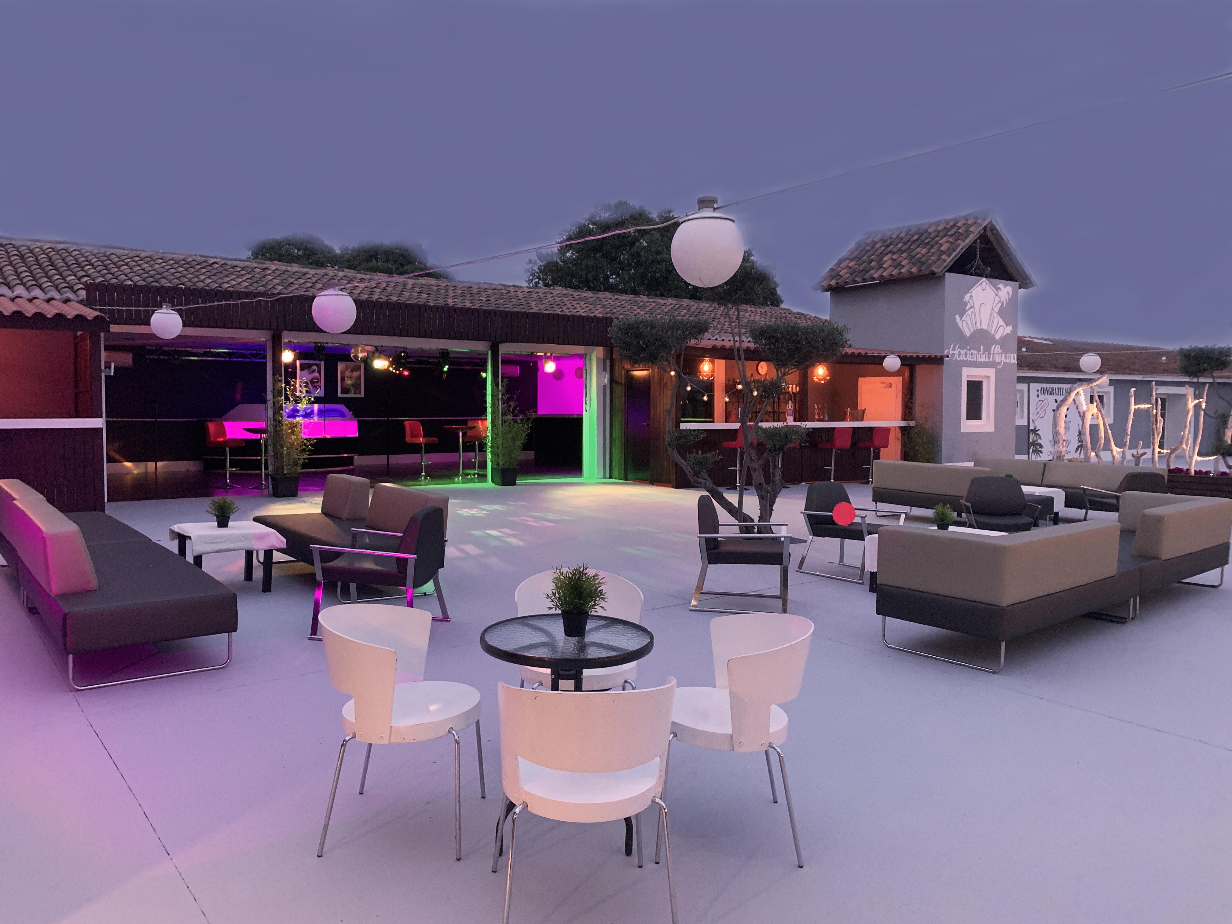 Hacienda Mityana - Eventos - Terraza