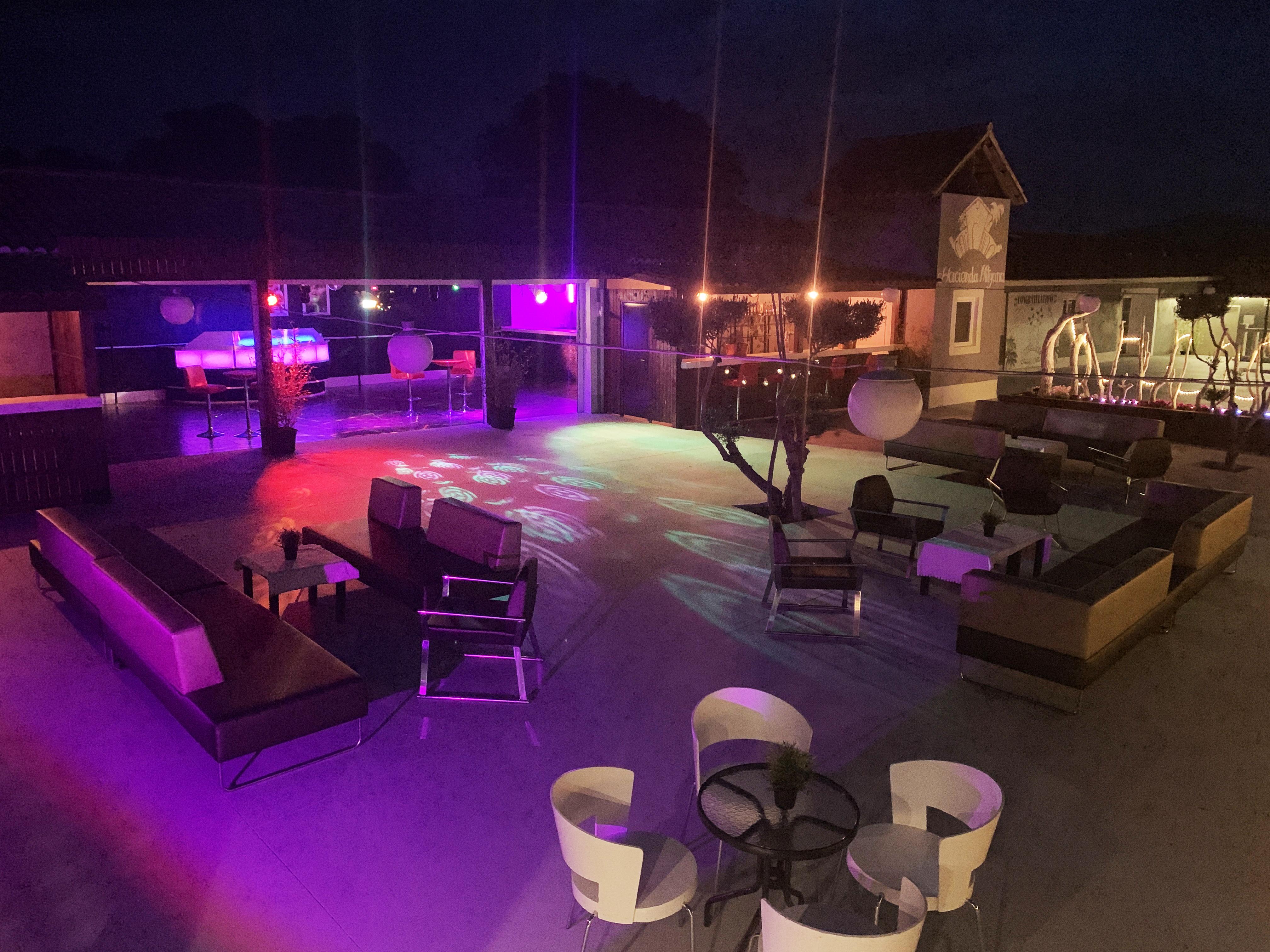 Hacienda Mityana - Eventos - Terraza - Discoteca
