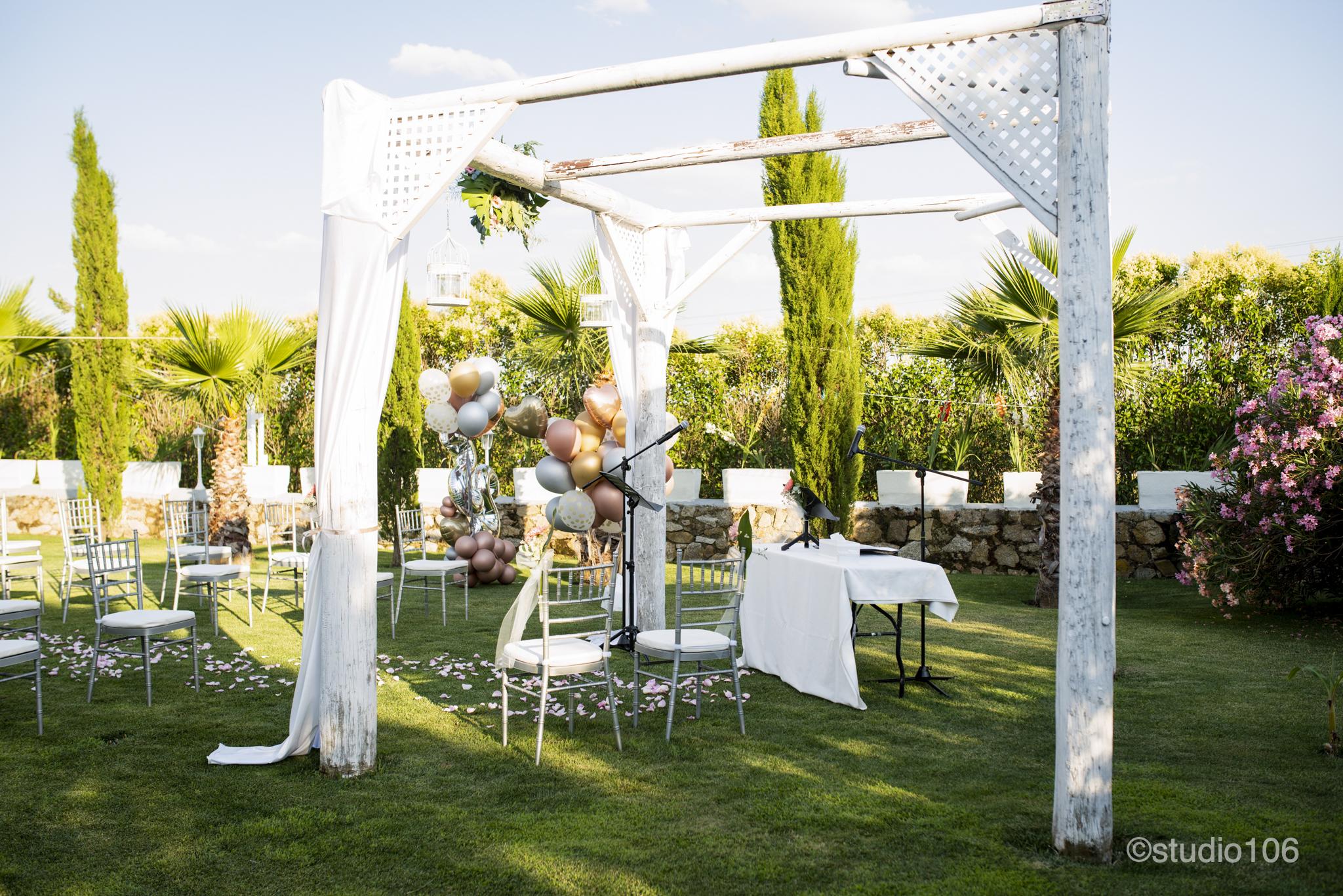 Hacienda Mityana - boda - ceremonía