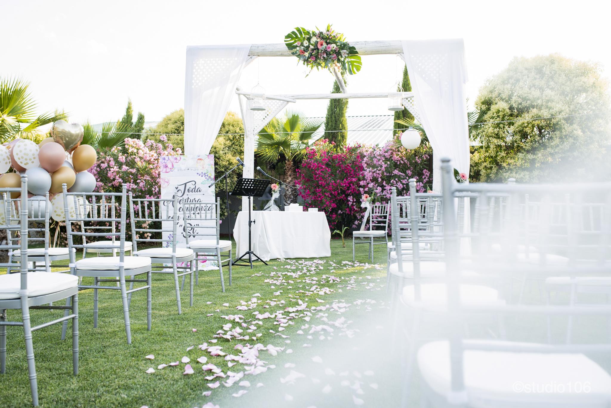 Hacienda Mityana- boda - Ceremonía