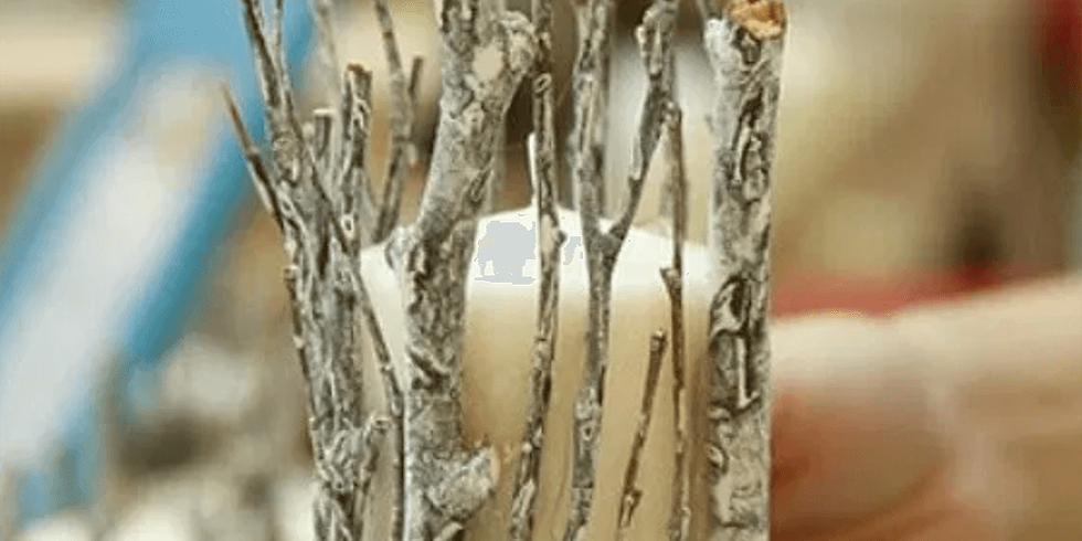 Family Art Packs: RUSTIC SILVER TWIGS