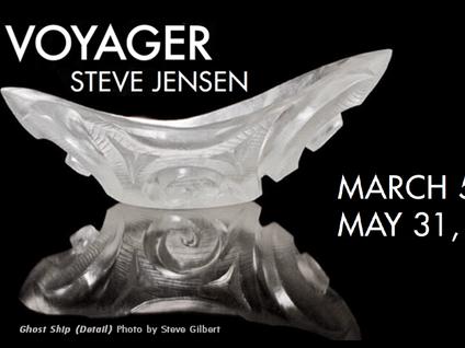 STEVE JENSEN's VOYAGER opens this week at SJIMA
