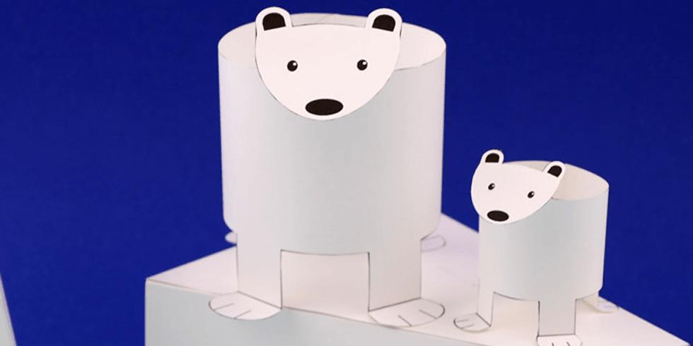 Family Art Packs: POLAR BEARS AND ICEBERGS