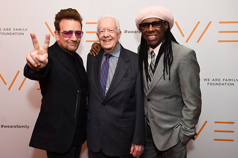 Bono Jimmy Carter Nile Rodgers_Rock N Ro