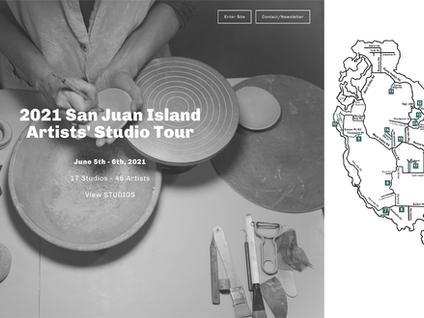 San Juan Island Artists' STUDIO TOUR 2021