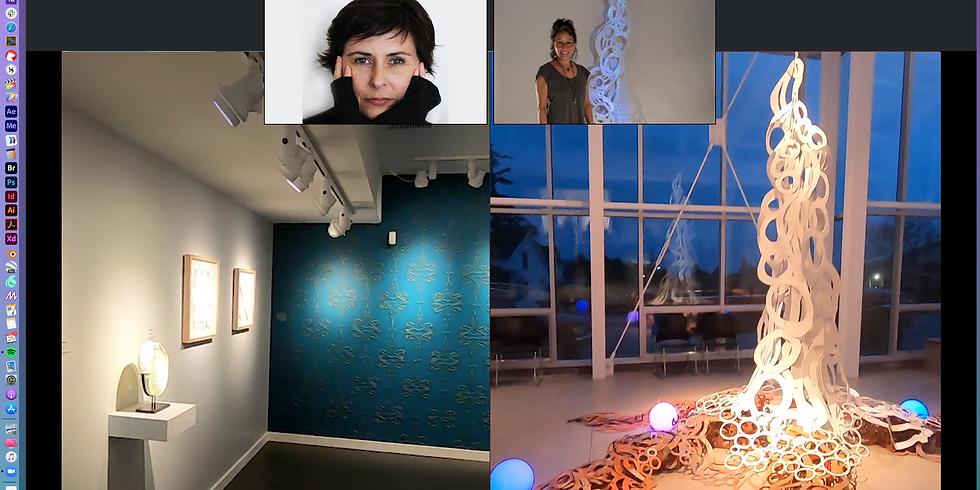 Artist Talk with Holly Ballard Martz and June Sekiguchi