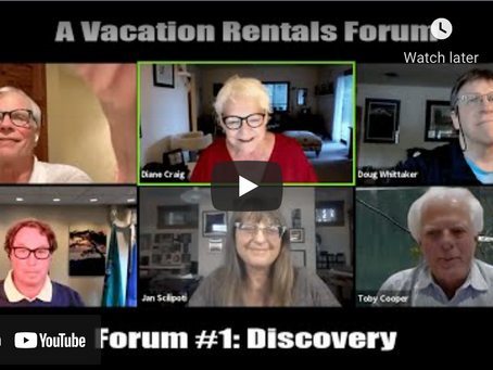 Vacation Rental: the discussion continues