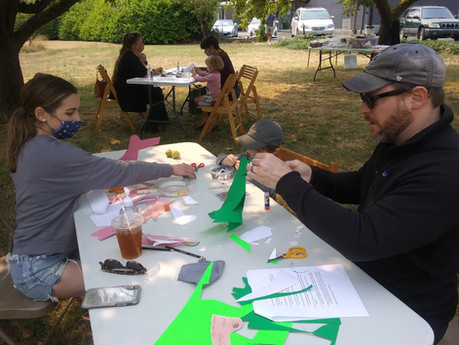 SJIMA Family Art Days in the Orchard