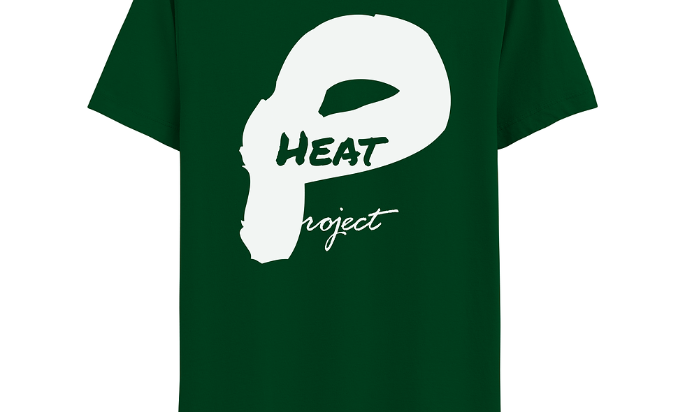 Forest Green and White Logo Tee