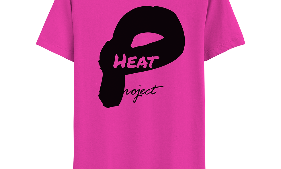 Pink and Black Logo Tee