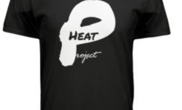 Black Project Heat Logo Tee
