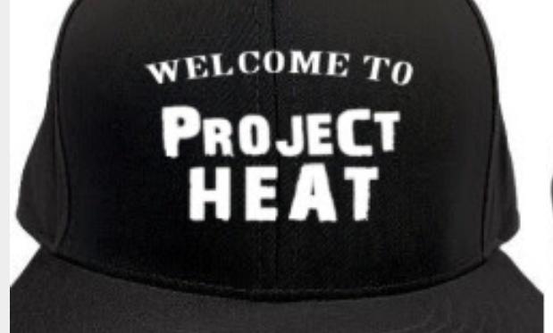 Black Project Heat Snapback