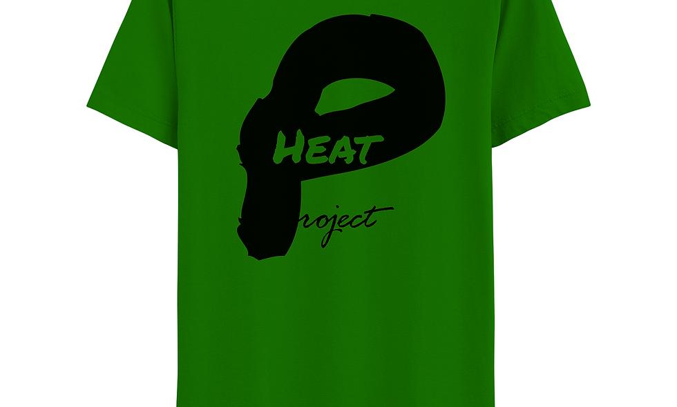 Green and Black Logo Tee