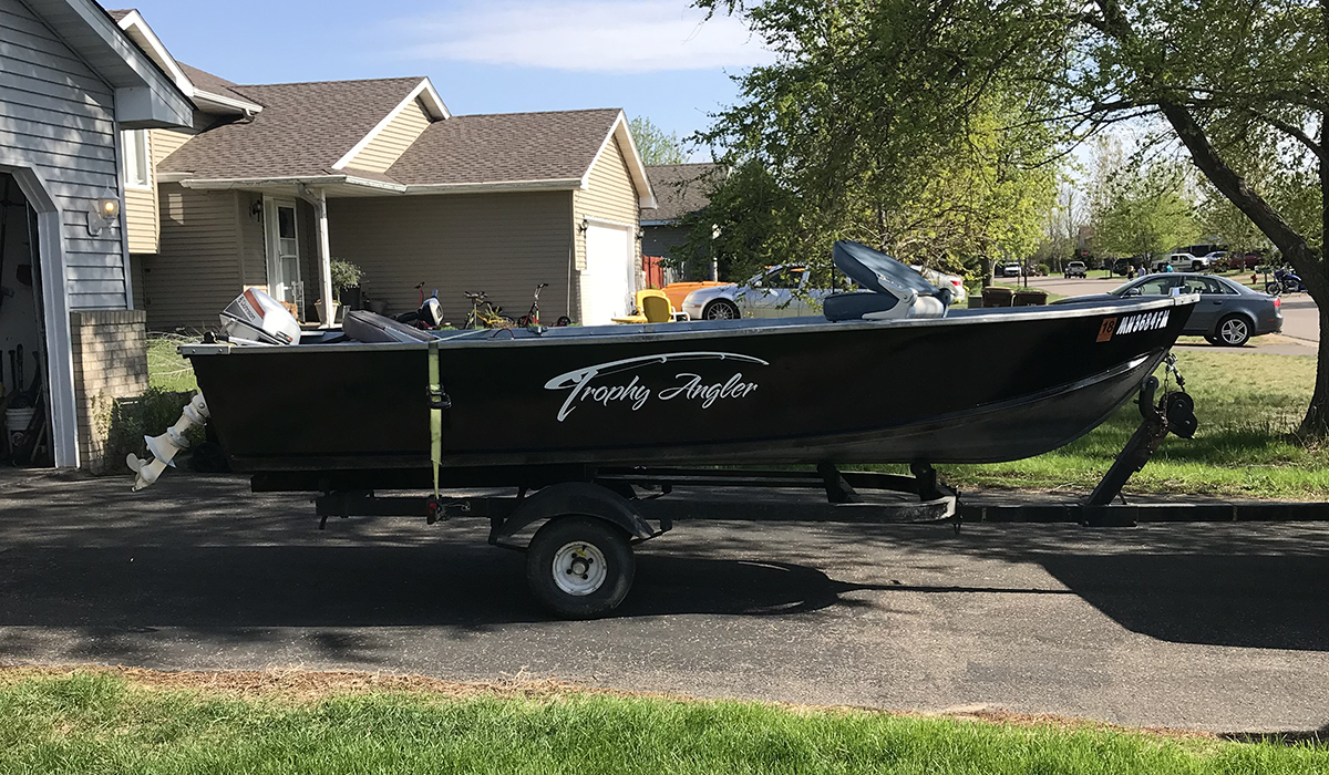 Pro Staffer Boat