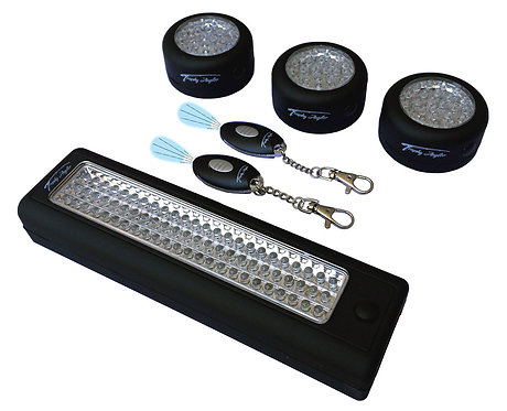 6 Piece LED Shelter Light Package